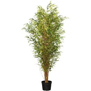 Creativ green Kunstbaum Bambus H: 180 cm grün Künstliche Zimmerpflanzen Kunstpflanzen Wohnaccessoires