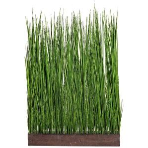Creativ green Kunstgras Gras Raumteiler B/H: 92 cm x 150 grün Künstliche Zimmerpflanzen Kunstpflanzen Wohnaccessoires