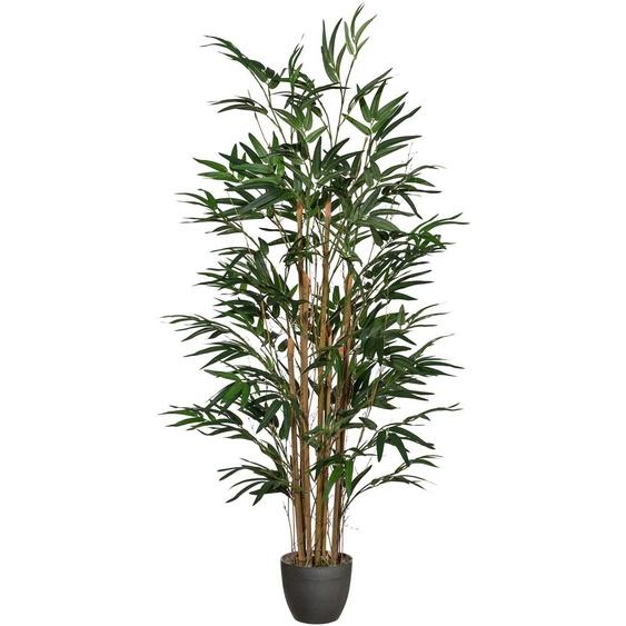 Creativ green Kunstpflanze Bambus (1 Stück) 8x120 cm grün Zimmerpflanzen Pflanzen Garten Balkon Kunstpflanzen