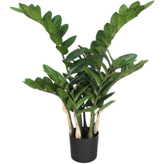 Creativ green Kunstpflanze Zamifolia (1 Stück) H: 70 cm grün Zimmerpflanzen Pflanzen Garten Balkon Kunstpflanzen