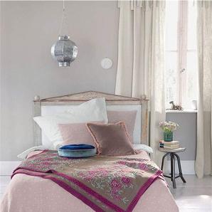 Crinkle Tagesdecke helles Flieder - bunt - 100 % Baumwolle - Tagesdecken & Quilts - Überwürfe & Sofaüberwürfe
