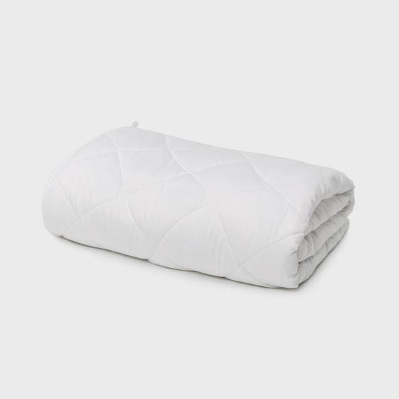 Cura Gewichtsdecke 16Kg , Weiß , Textil , 200 cm