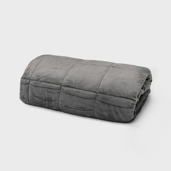 Cura Wohndecke 140/200 cm Grau , Textil , 140 cm