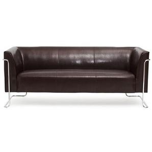 CURACAO   3-Sitzer - Lounge Sofa Braun