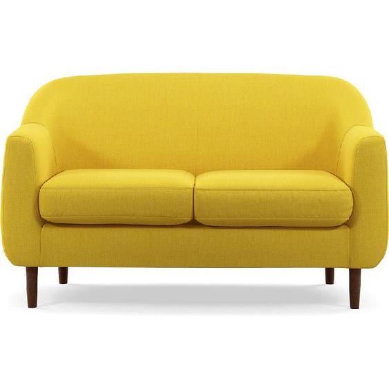 Custom  Tubby 2-Sitzer Sofa, Retrogelb