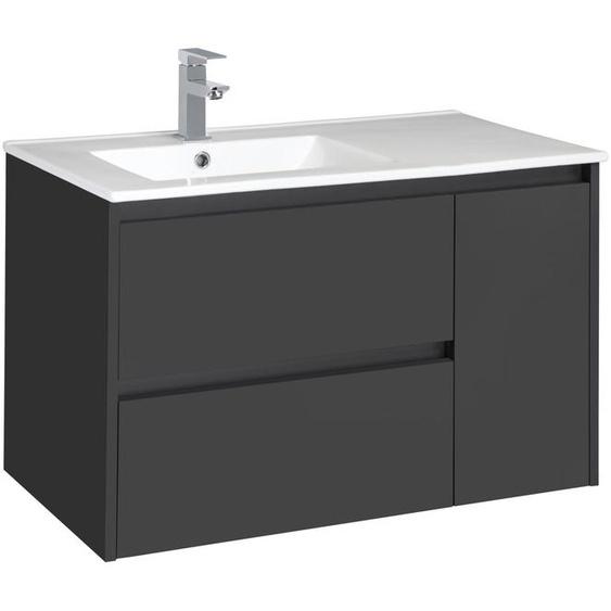CYGNUS BATH Waschtisch »Jano 850«, Breite 85 cm, Waschmulde links