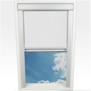 Dachfensterrollo »Verdunkelung«, Liedeco, verdunkelnd, mit Bohren, in Führungsschienen