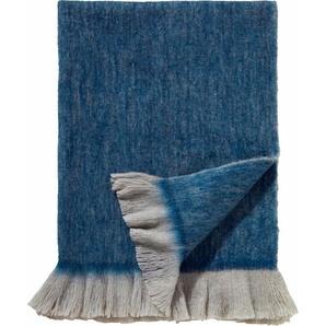 Damai Plaid »Sutherland«, 130x170 cm, blau
