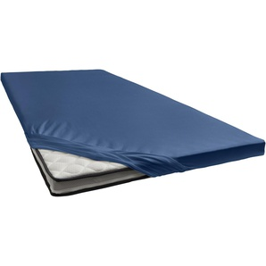 Damai Spannbettlaken »Renforcé«, 200/200 cm, blau
