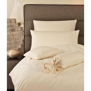 Damast-Bettbezug Rubin