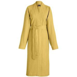 Das Jacquard Francais 22292Bademantel Polygon Baumwolle gelb 35x 28cm