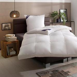 Daunenbettdecke, »Luzern«, Excellent, Füllung: 100% Daunen, Bezug: 100% Baumwolle, Wohlfühlkomfort durch Naturfüllung