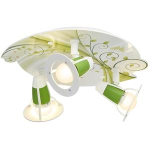 Deckenleuchte, 3-flammig, grün | grün | 20 cm | Möbel Kraft