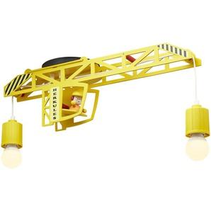 Deckenleuchte, Turmdrehkran, gelb - gelb - 60 cm - 50 cm - 22 cm | Möbel Kraft