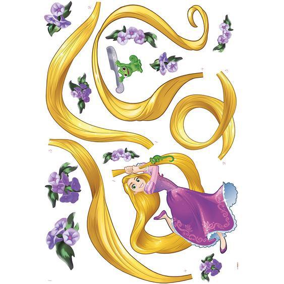 Komar Deko-Sticker Rapunzel 100 cm x 70 cm