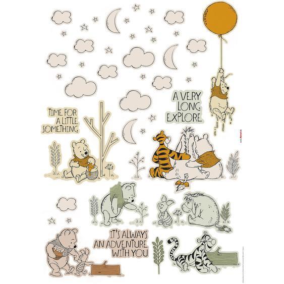 Komar Deko-Sticker Winnies Woodland 50 cm x 70 cm