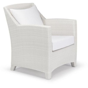 Dedon - Barcelona Lounge Chair - chalk - outdoor