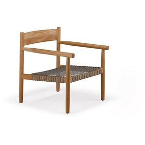 Dedon - Tibbo Sessel - schwarzes Sitzgeflecht - outdoor