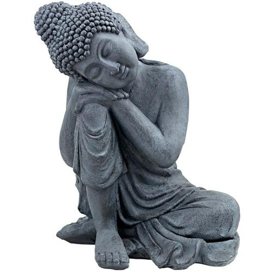 Deko-Buddha - grau - Magnesia | Möbel Kraft