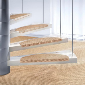 Dekowe Stufenmatte  »Brasil«, 1x 15x65 cm, 10 mm Gesamthöhe, beige