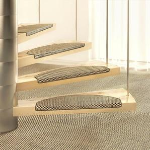 Dekowe Stufenmatte »Brasil«, 1x 15x65 cm, 10 mm Gesamthöhe, braun