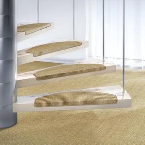 Dekowe Stufenmatte »Mara S2«, 15x 25x65 cm, 5 mm Gesamthöhe, beige