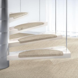 Dekowe Stufenmatte »Mara S2«, 15x 25x65 cm, 5 mm Gesamthöhe, grau