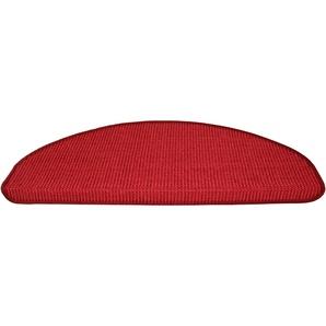 Dekowe Stufenmatte »Mara S2«, 15x 25x65 cm, 5 mm Gesamthöhe, rot