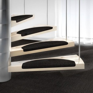 Dekowe Stufenmatte »Mara S2«, 15x 25x65 cm, 5 mm Gesamthöhe, schwarz