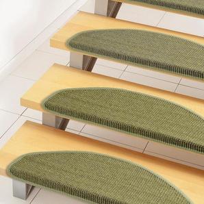 Dekowe Stufenmatte »Mara S2«, 1x 25x65 cm, 5 mm Gesamthöhe, grün