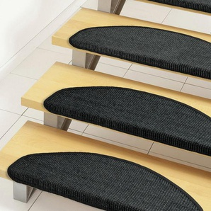 Dekowe Stufenmatte »Mara S2«, 1x 25x65 cm, 5 mm Gesamthöhe, schwarz