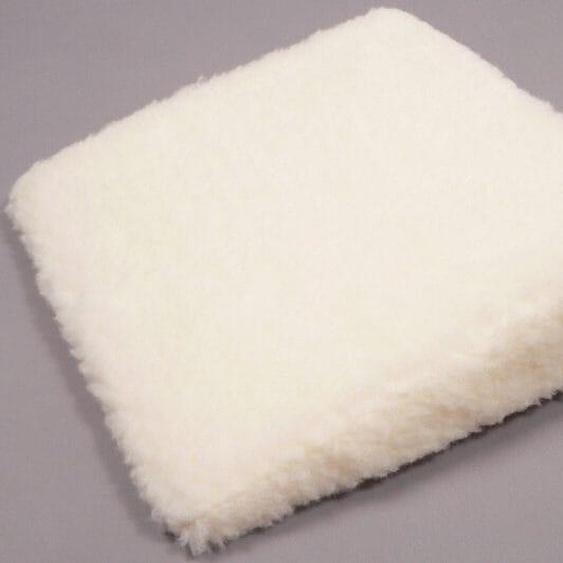DELAVITA Keilkissen Cosy, aus reiner Schurwolle 1x 40x40 cm, Schurwolle, 8 cm beige Nackenkissen Kissen Kopfkissen