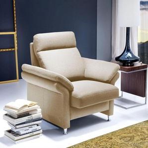 DELAVITA Sessel »Mialand«, mit komfortablem Federkern-Sitz, wahlweise mit Sitztiefenverstellung