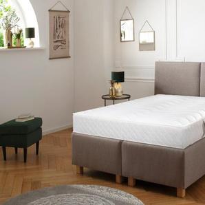 My Home Taschenfederkernmatratze »Senioren 55 plus«, 1x 90x190 cm, weiß, 101-120 kg