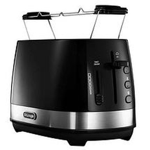 DeLonghi Active Line CTLA 2103.BK Toaster schwarz