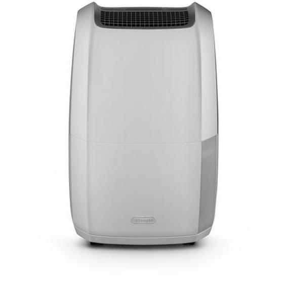 DeLonghi Luftentfeuchter DDSX220 weiß-grau, drei Ventilationsstufen