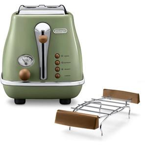 Toaster Incona Vintage  »CTOV 2103.BG«, DeLonghi
