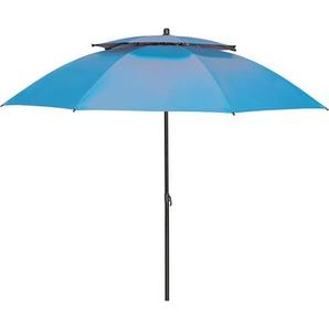 Derby Strandschirm Windprofi Ø 200 cm Blau