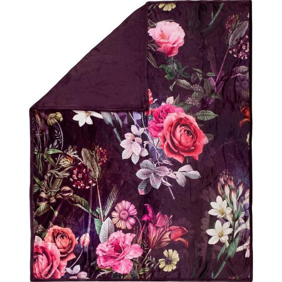 Descanso Plaid »Simone«, 130x160 cm, rot