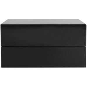 Design-Ablagekasten Schwarz 2 Schubladen MAX