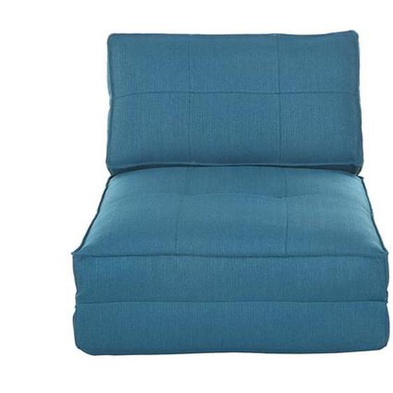 Design-Bettsessel Blau SALLY