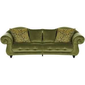 Design Big Sofa grün - Mikrofaser Nobody ¦ grün ¦ Maße (cm): B: 288 H: 98 T: 110