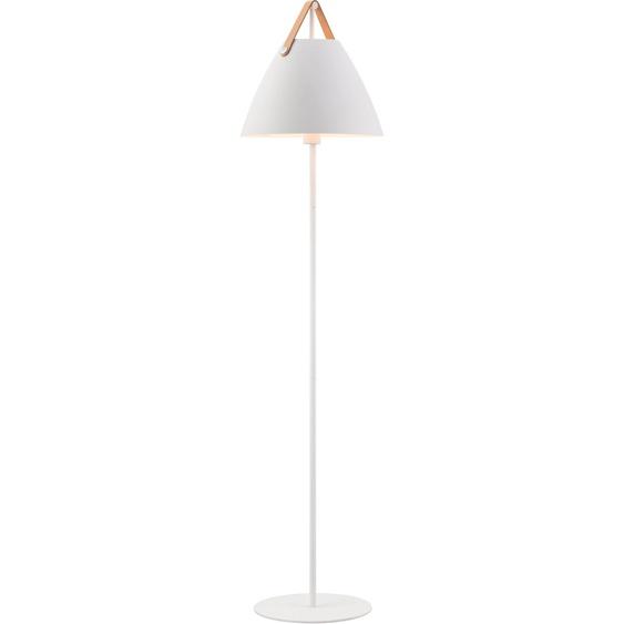 design for the people Stehlampe Strap, E27 1 flg., Ø 36 cm Höhe: 154 weiß Standleuchten Stehleuchten Lampen Leuchten