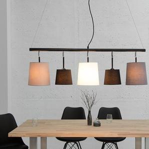 Design Hängeleuchte LEVELS 100cm schwarz grau Pendelleuchte Design by KARE