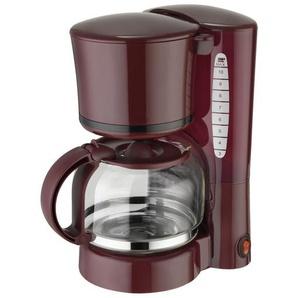Design-Kaffeeautomat Dunkelgrün mit Glaskanne