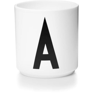 DESIGN LETTERS - Personal Porcelaine Cup - A - indoor
