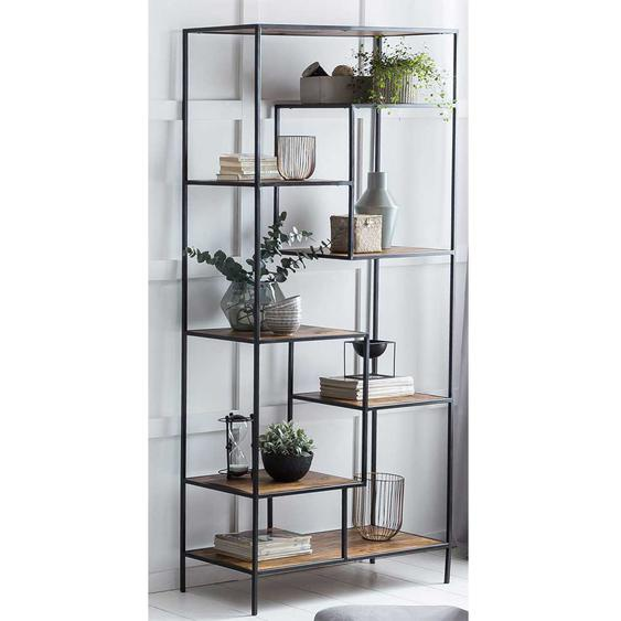Design Regal 200 cm hoch Böden in verschiedenen Ebenen