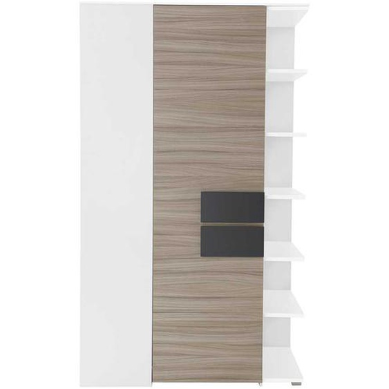 Design Schrank für Ecke mit Regal