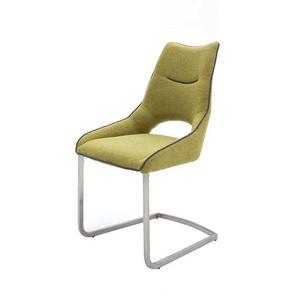 Design Schwingstuhl in Gr�n modern (2er Set)