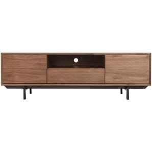 design tv mobel vintage 160cm nussbaum manny